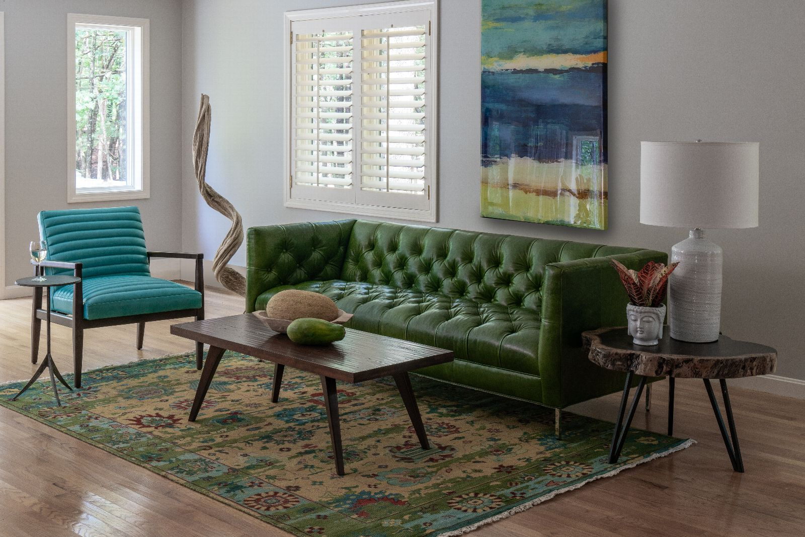 circle furniture  sectional vs sofa and chairs what's
