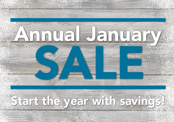 Annual January Sale