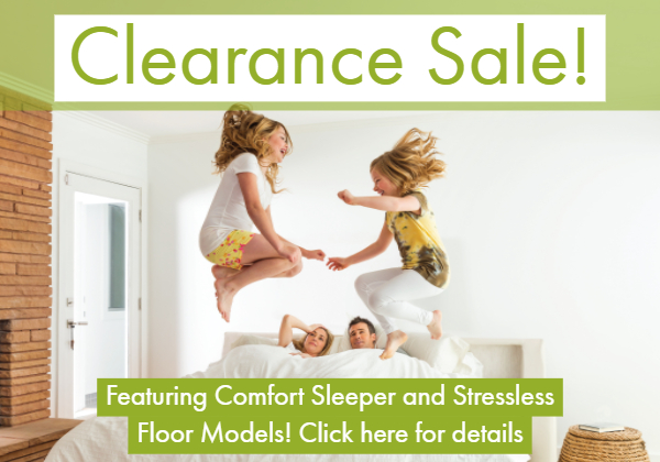 Comfort Sleeper and Stressless Sale