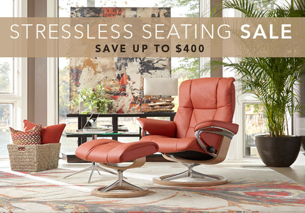 Stressless Charity Promo · Circle Furniture Blog