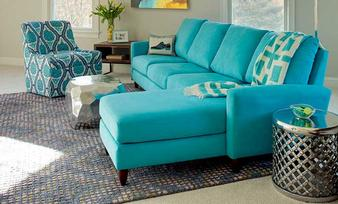 Shop this room: Living - Bennet Blue