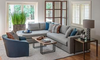 Shop this room: Living - Putnam Sectional